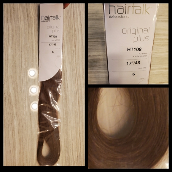 hairtalk extensions Other - Hairtalk professional tape in extensions 100% remy